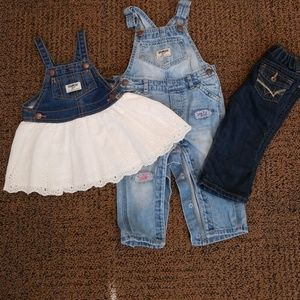 Girls 12 month denim bundle
